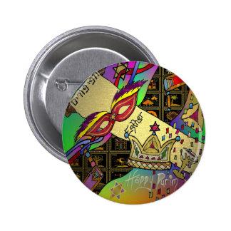 Impresión del arte de la celebración de Judaica Pu Pin Redondo 5 Cm