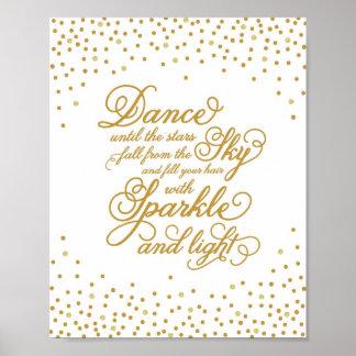 Impresión del arte de la danza el | póster