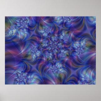Impresión del arte de la esencia del fractal póster