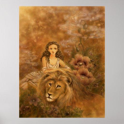 Impresión del arte de la fantasía - Circe Póster