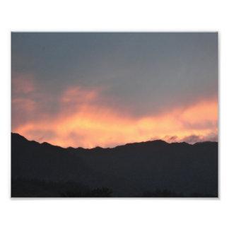 Impresión del arte de la foto de Hawaii del fuego  Fotografías