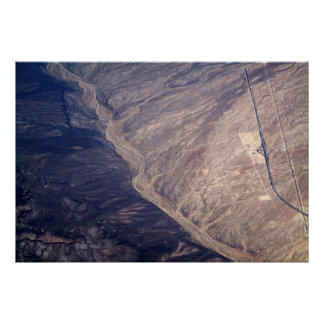 Impresión del arte de la fotografía aérea poster