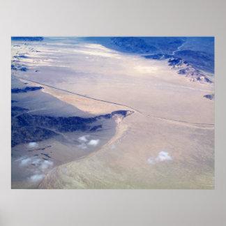 Impresión del arte de la fotografía aérea posters