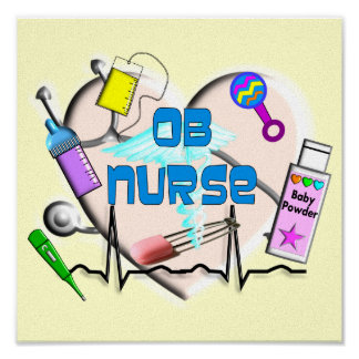 Impresión del arte de la lona de la enfermera de O Impresiones