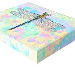 Impresión del arte de la lona de la libélula impresiones en lona