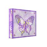 Impresión del arte de la lona de la mariposa impresiones en lona estiradas