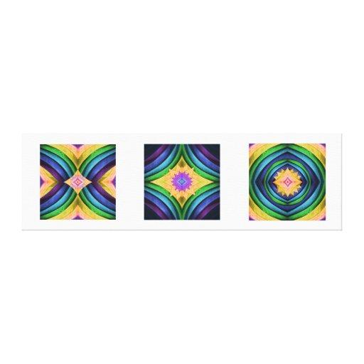 Impresión del arte de la lona del trío de Dreamcat Lona Estirada Galerías