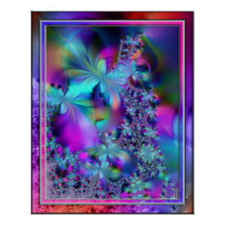 Impresión del arte de la variación 2 de las florac impresiones