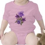 Impresión del arte de las flores de la violeta
