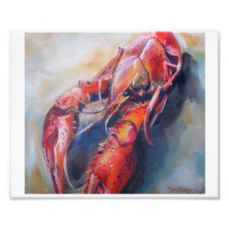 Impresión del arte de los cangrejos fotografía