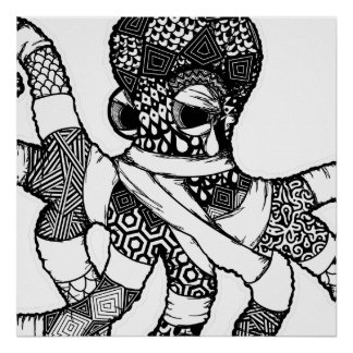 Impresión del arte de Octo Póster