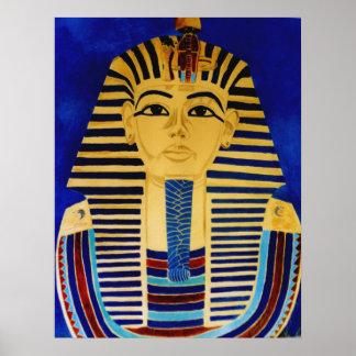 Impresión del arte de rey Tut Tutankhamun Egipto a Poster