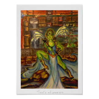 """Impresión del arte de """"Toxia"""" - Posters"""