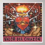 """Impresión del arte de """"Valor Del Corazon"""" - (arte Posters"""