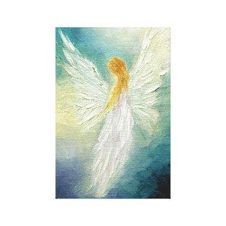 Impresión del arte del ángel en lona impresión en lona estirada