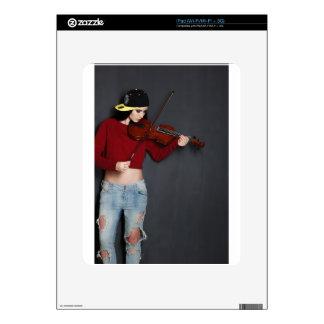 Impresión del arte del autor del fotógrafo calcomanía para el iPad