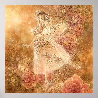 Impresión del arte del ballet de Sylphide del La ( Poster