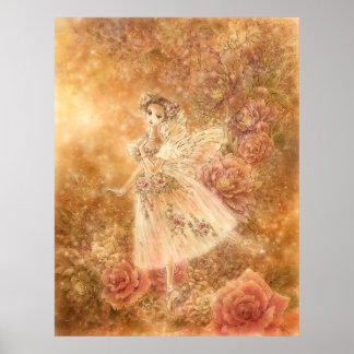 Impresión del arte del ballet - La Sylphide Posters