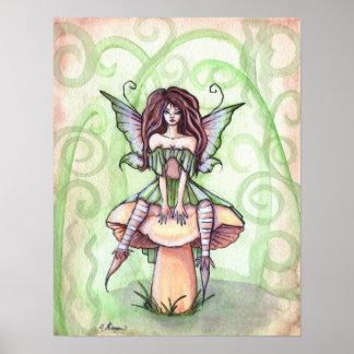 Impresión del arte del camuflaje de Ashley Póster