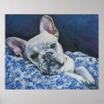 Impresión del arte del dogo francés impresiones
