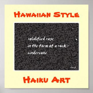 """Impresión del arte del Haiku de """"Cindercone"""" Impresiones"""