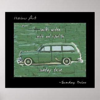 Impresión del arte del Haiku de la impulsión de do Posters
