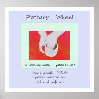 Impresión del arte del Haiku de la rueda de la cer Póster