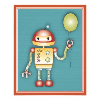 Impresión del arte del juego de los robots - robot impresion fotografica