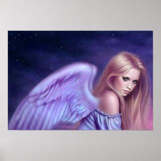Impresión del arte del poster del ángel de Seraphi
