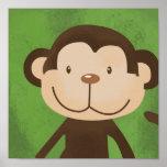 Impresión del arte del safari de selva de los niño poster