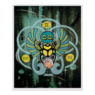 """Impresión del arte del """"Synchronicity"""" Póster"""