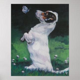 impresión del arte del terrier de Russell del ench Impresiones