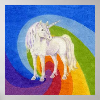 Impresión del arte del unicornio