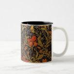Impresión del arte del vintage de la taza