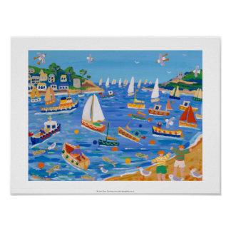 Impresión del arte: Navegación de domingo, Fowey,  Impresiones