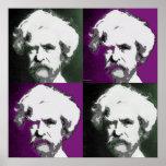 Impresión del arte pop de Mark Twain Impresiones