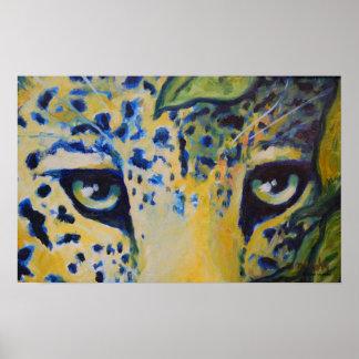 Impresión del arte/poster - arte salvaje del gato