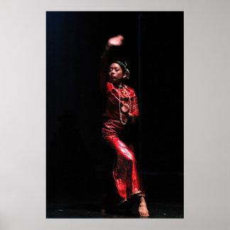 Impresión del bailarín de Asik Póster