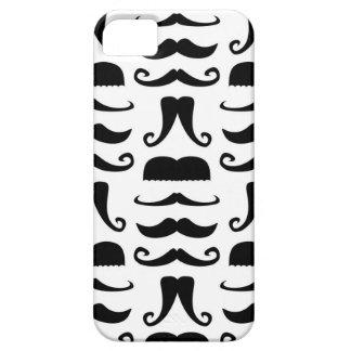Impresión del bigote iPhone 5 Case-Mate protectores