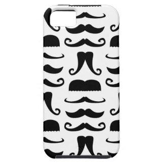 Impresión del bigote iPhone 5 Case-Mate cárcasa