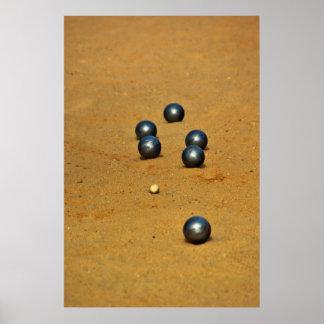 Impresión del Boule Póster