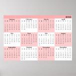 impresión del calendario 2011 posters