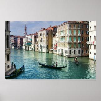 Impresión del canal de Venecia Impresiones