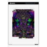 Impresión del carnaval del fractal iPad 3 skin