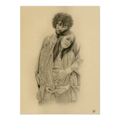 Impresión del cartel de Maria y de José Impresiones