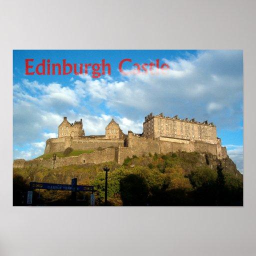 Impresión del castillo de Edimburgo Impresiones