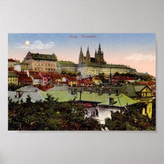 Impresión del castillo de Praga Impresiones