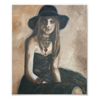 Impresión del chica de New Orleans Impresión Fotográfica