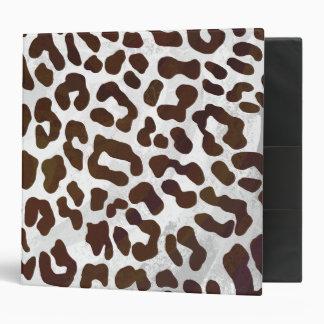 """Impresión del chocolate del leopardo carpeta 2"""""""