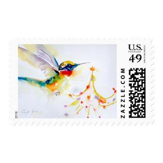 """Impresión del colibrí de """"poco condensador de estampilla"""